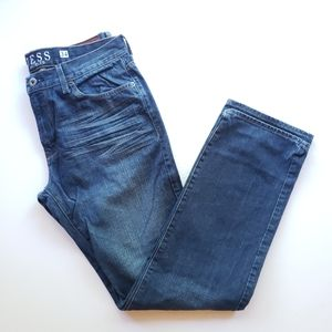 Men's GUESS Jeans Lincoln Slim Straight Size 34x32